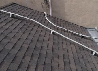アメリカンカントリー風の屋根