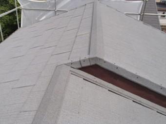 瓦屋根からエコグラーニへの葺き替え完了