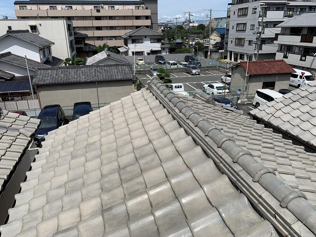 東大阪市シルバー瓦