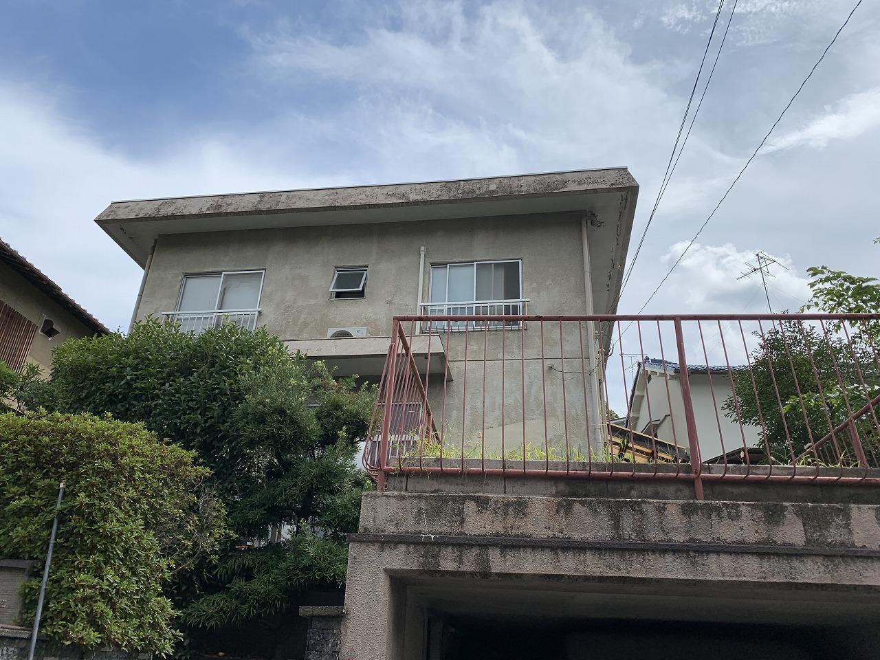 茨木市陸屋根調査