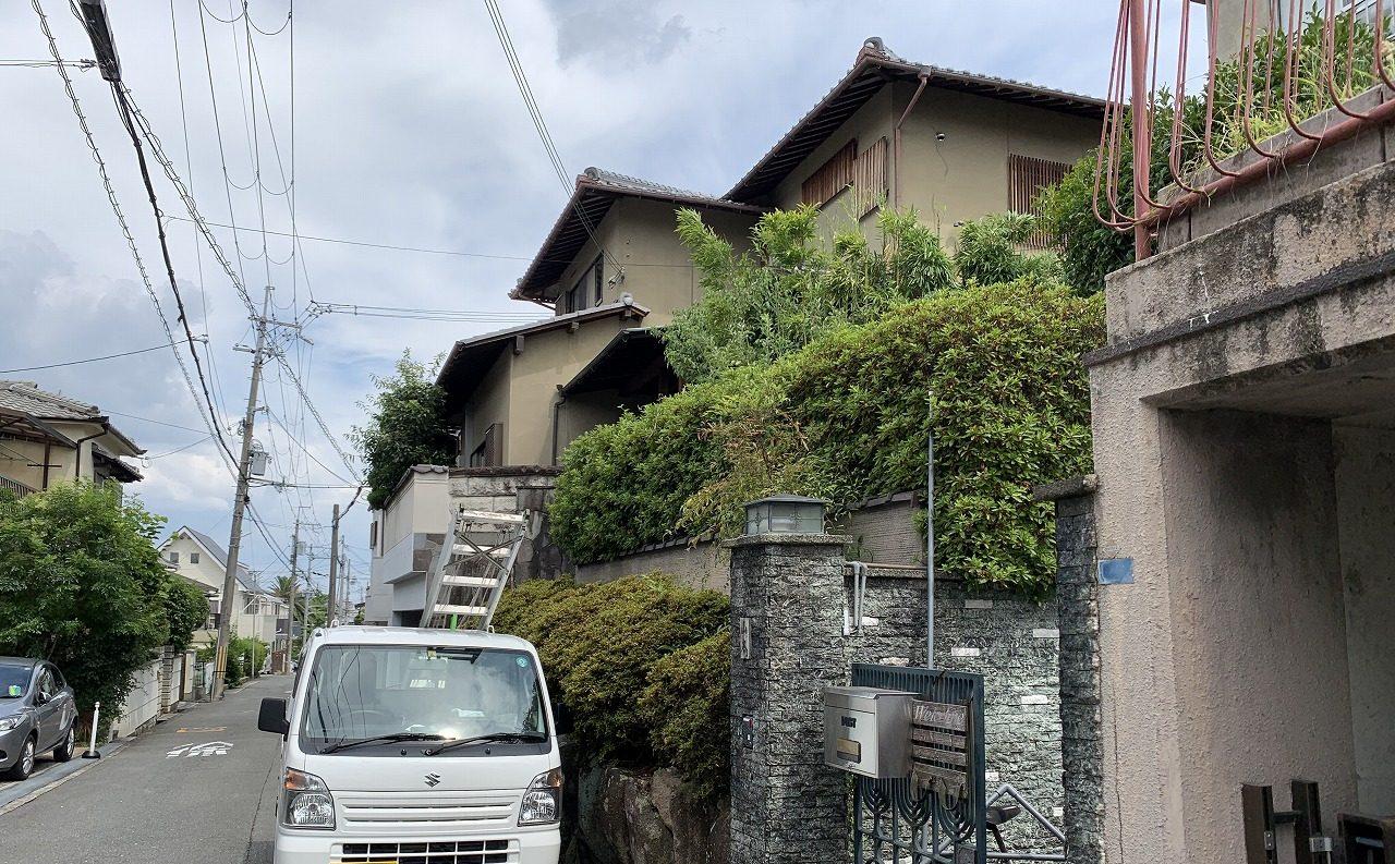 茨木市調査道路