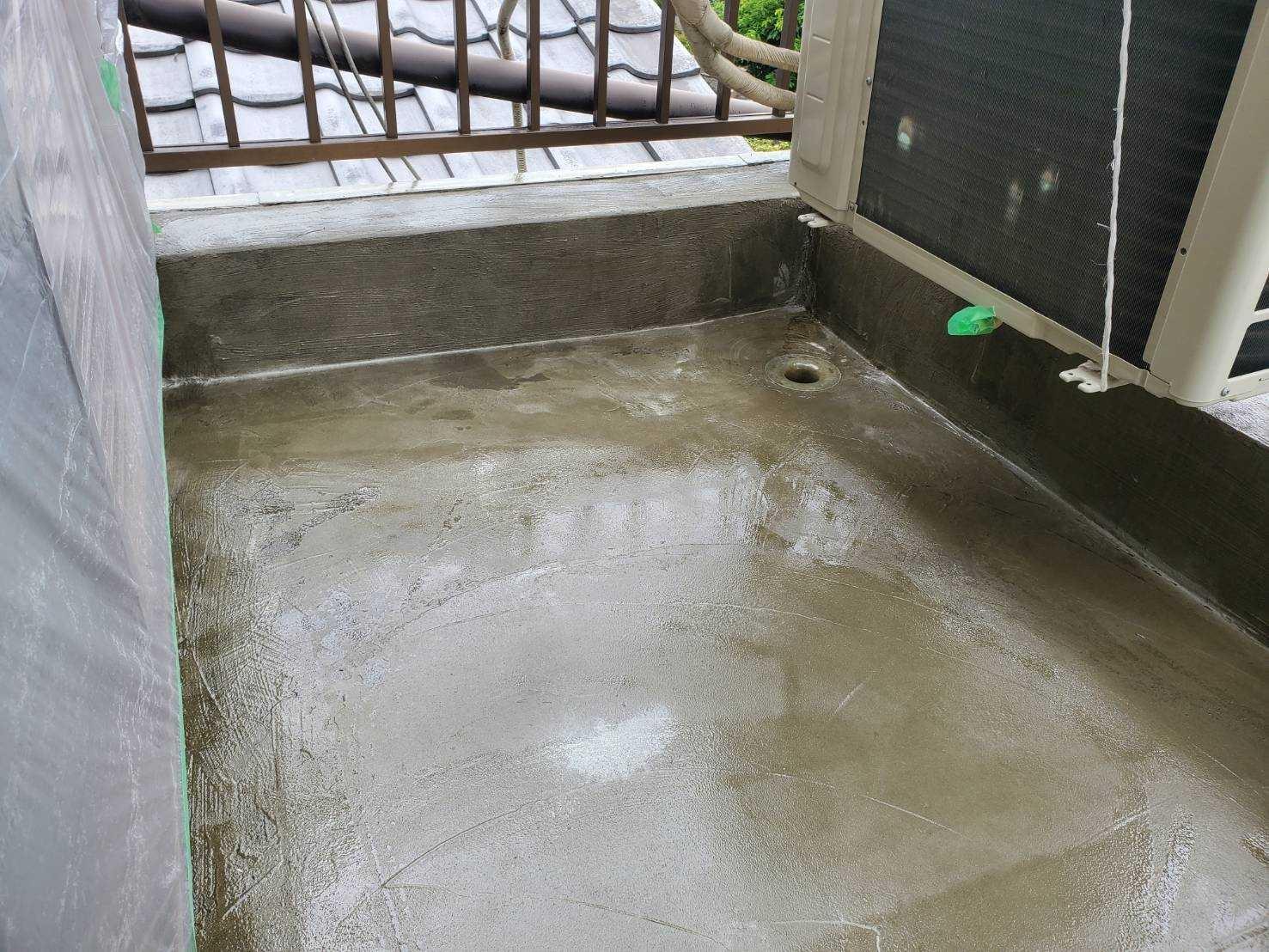 FRP防水を行いました。