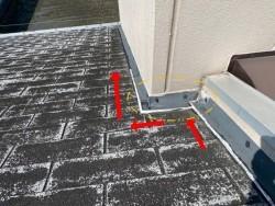 守口市 屋根雨漏り箇所