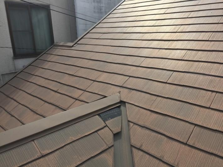 点検 カラーベスト屋根