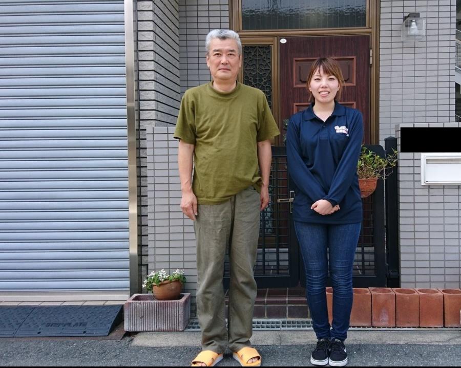 東大阪市 陸屋根塔屋部の雨漏りを防水工事いたしましたM様のお声