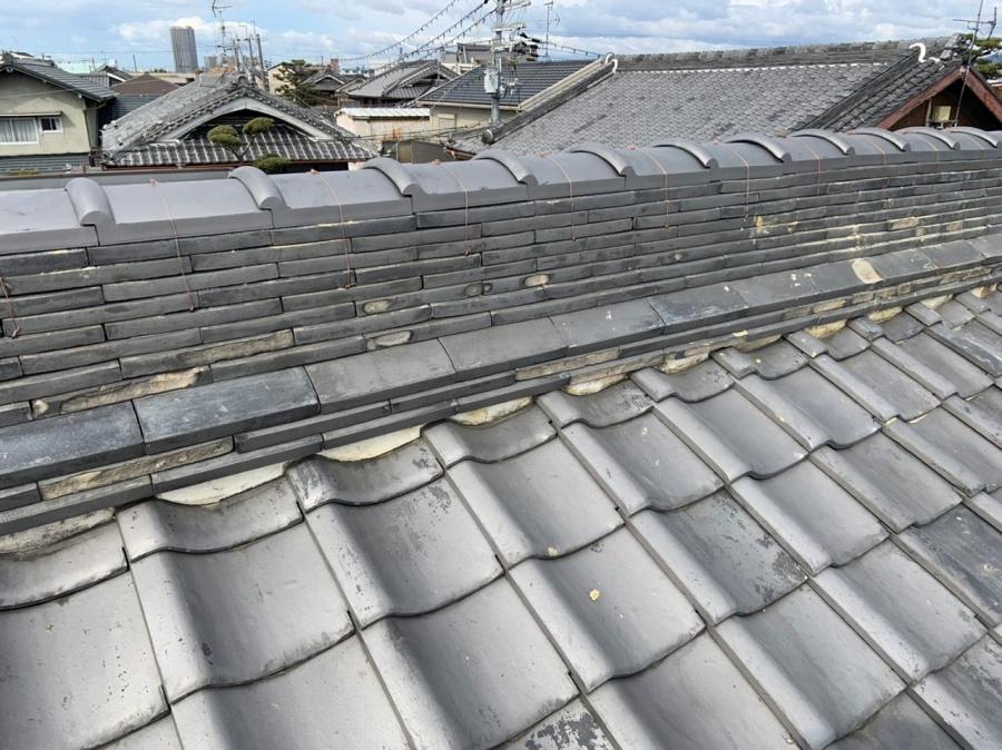 茨木市 入母屋屋根の補修工事 お客様の声を頂きました。