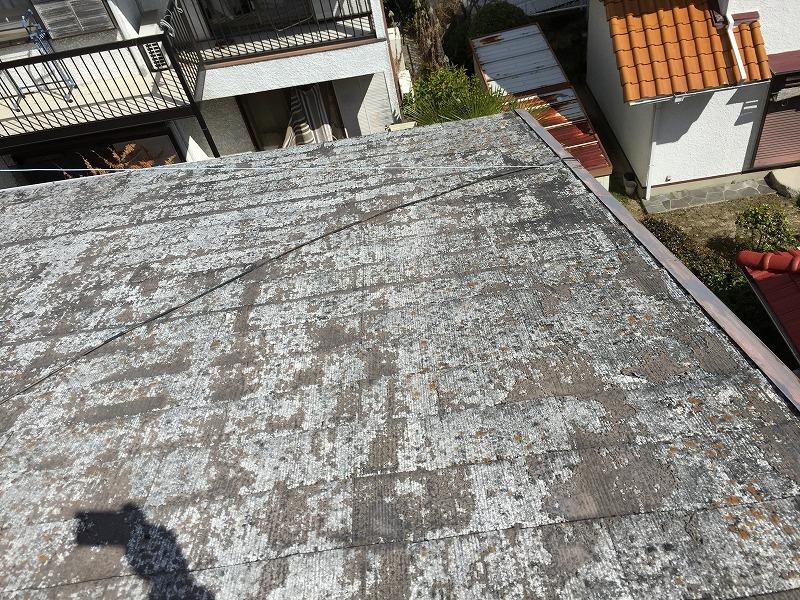 塗装サイクルの過ぎたカラーベスト屋根