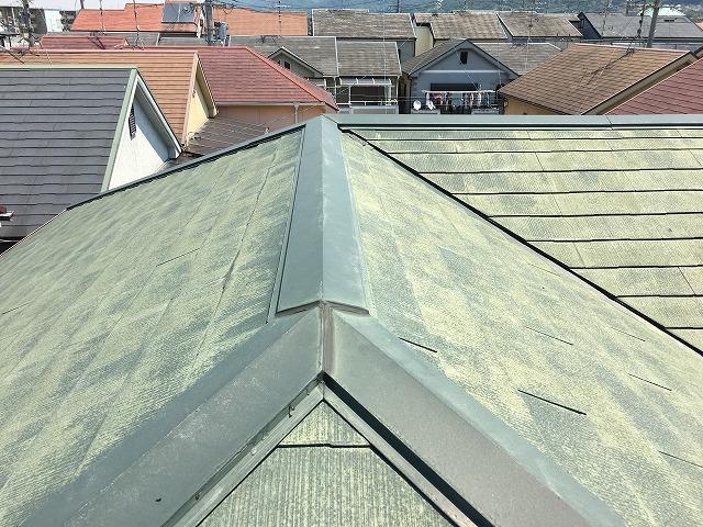 カラーベスト瓦使用の屋根調査