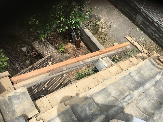 下地たる木補修