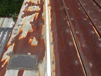 瓦棒屋根の状態