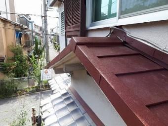 下屋根完成