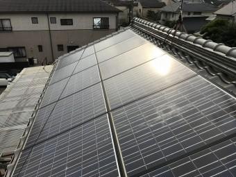 片面はほぼ全面ソーラーが設置されております。