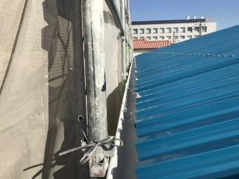 樋も前高130Wに交換しました。