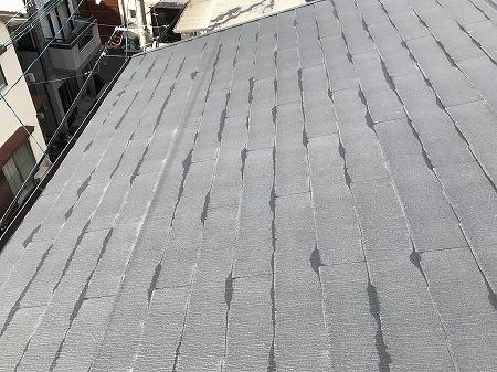 屋根に上がってみます。