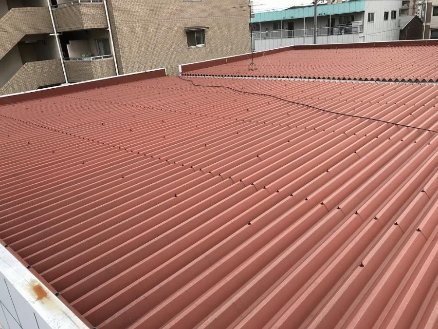 茨木市 テナント折半屋根