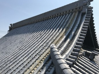 茨木市 降棟の解体撤去工事