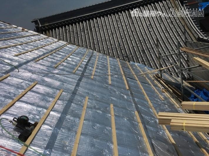 茨木市 遮熱材リフレクティックス施工