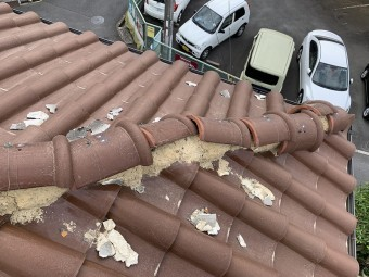 S型瓦台風被害