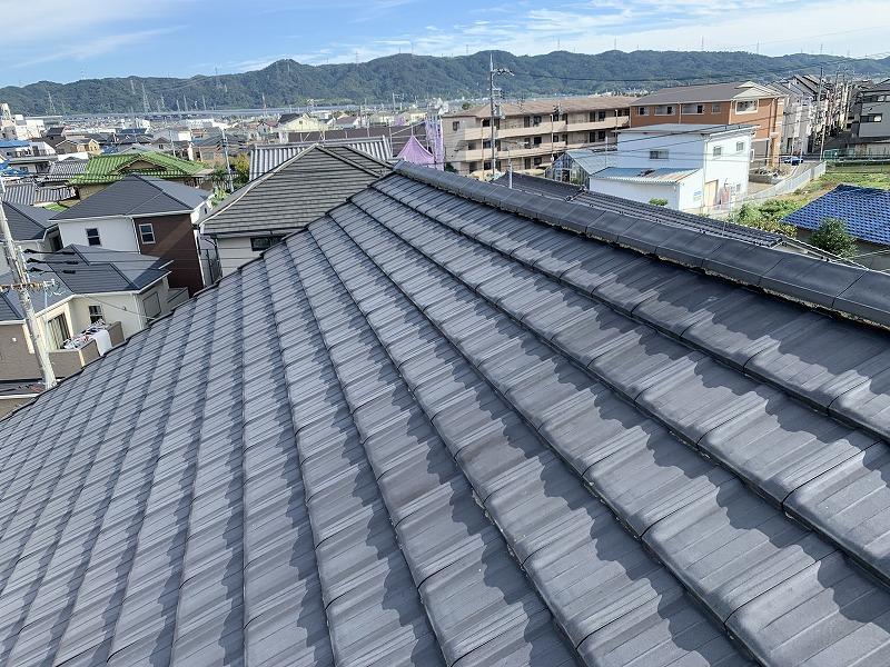 屋根勾配も5寸ほそありますので、なかなか恐怖感を感じます。