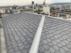 8階建てのマンション屋根の点検作業です。