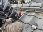 守口市 屋根漆喰解体工事