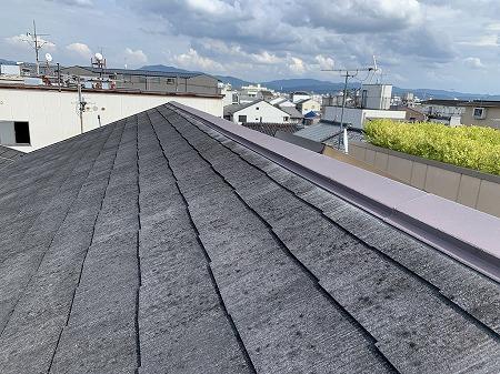 門真市 カラーベスト屋根の屋根点検!明るくていいんだけど、天窓は、、、