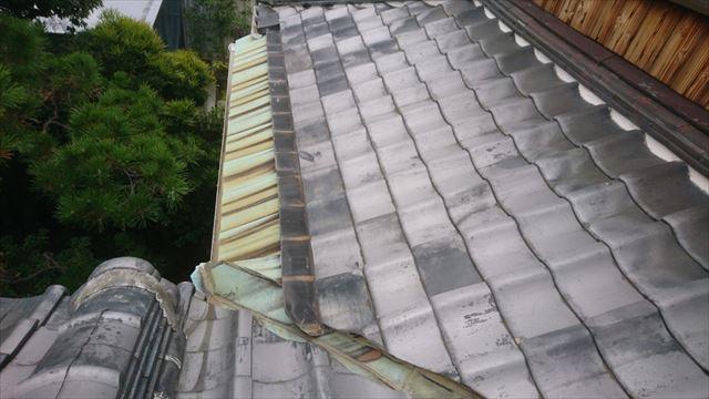 茨木市銅板施工前