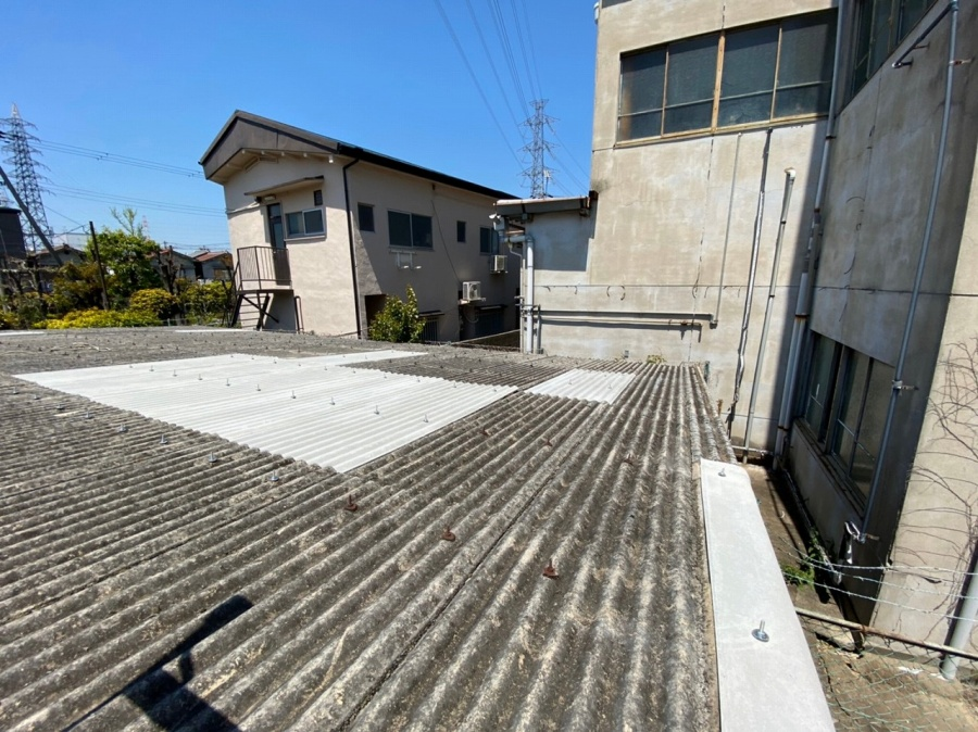 枚方市 スレート屋根の補修工事 お客様の声を頂きました。