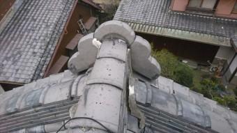 茨木市大屋根鬼瓦