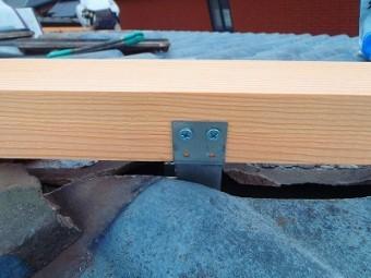 棟垂木設置