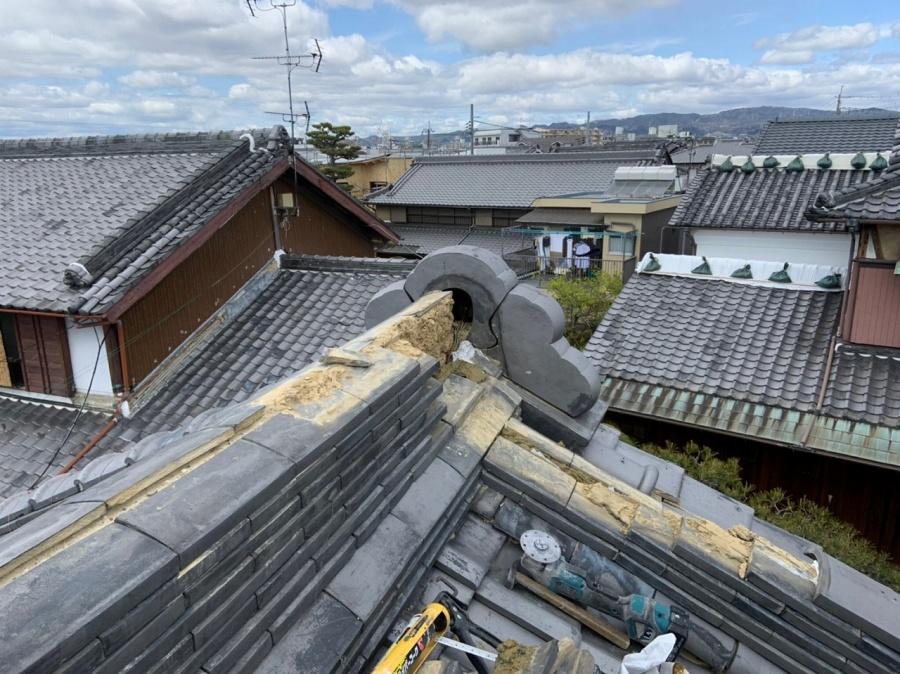 茨木市鬼回り解体