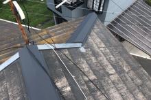 枚方市 屋根の上は問題なし