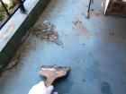 ベランダ防水 ケレン清掃