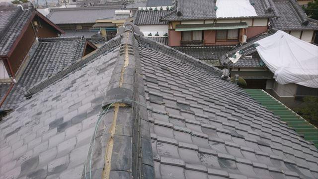茨木市 昔ながらの入母屋屋根の御宅の調査にお伺い致しました。