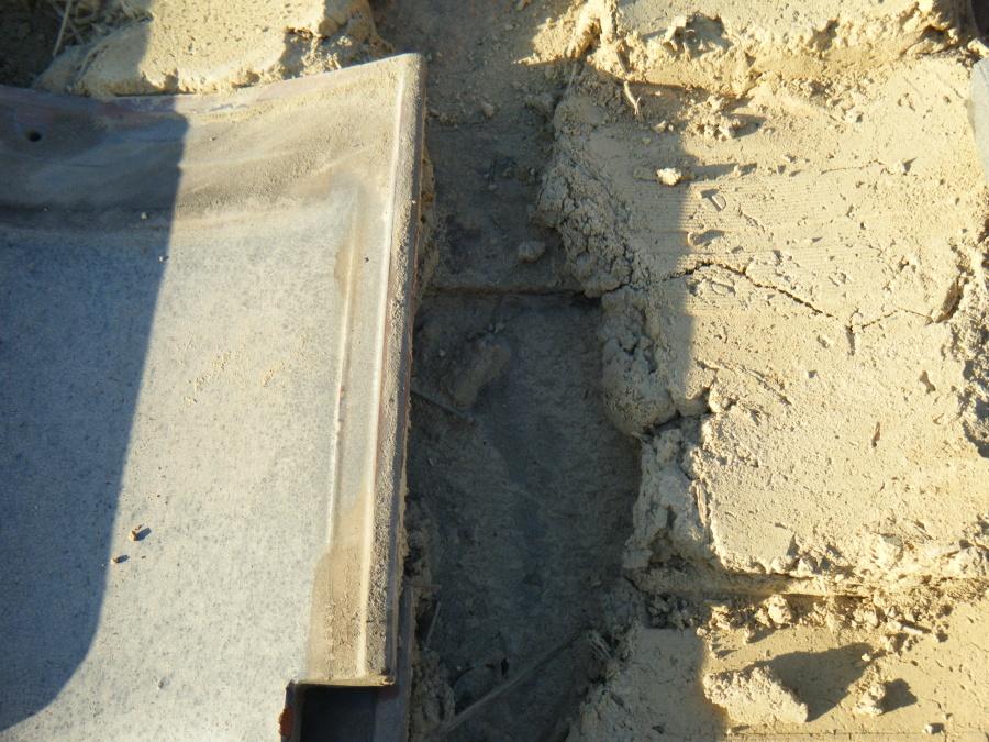 屋根土の状態