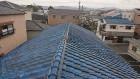 寝屋川市文化住宅の屋根