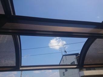 枚方市 R型テラス(ベランダの屋根飛散)