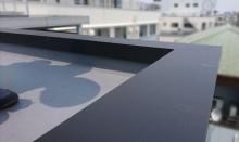 ガルバリウム鋼板で施工した笠木板金
