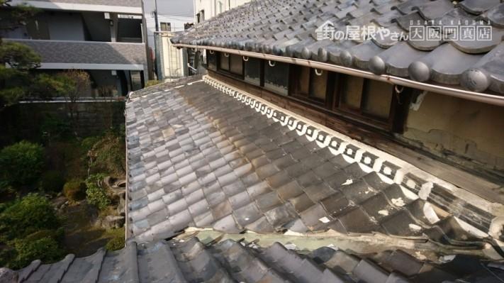 門真市 入母屋の屋根調査
