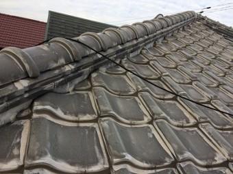 ラバーロックされた屋根