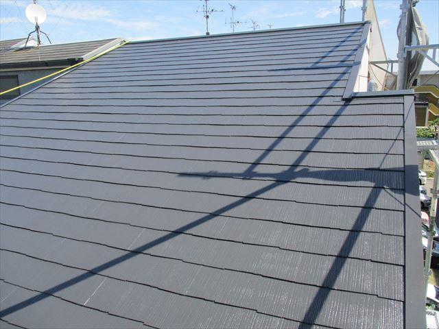 守口市 屋根塗装工事 完工写真