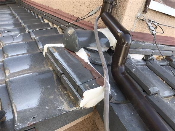 雨漏り補修完了