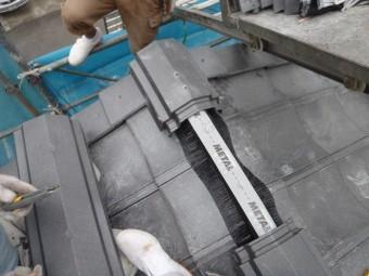 棟シートで乾式工法