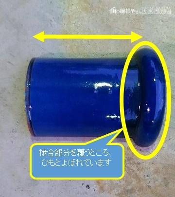 青い瓦の紐丸
