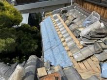 茨木市下屋根解体