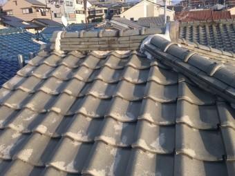 半寄棟形状の屋根