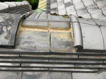 茨木市下屋根冠