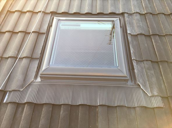 天窓まわり葺き直し