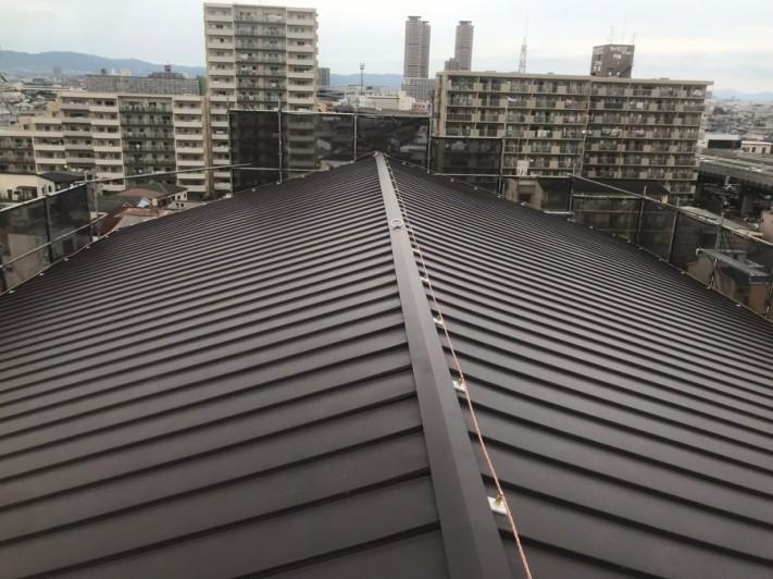 門真市 屋根改修工事完了